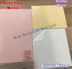 Rose Gold Acrylic Mirror Sheet