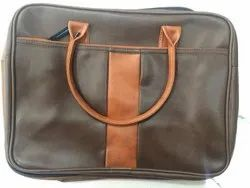 Brown Printed Leather Bags