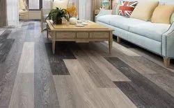 Plastic Spc Floorings, Size: 4mm X 180mm X 1220mm, Thickness: 1.5mm