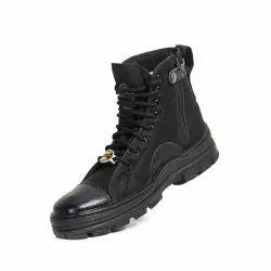 Black Liberty Bighorn Zipper Jungle Shoes