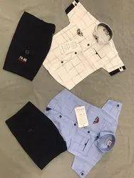 Boys Summer Wear Designer Boys Capri Set/ Boys 3/4th Sets