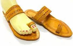 Women Authentic Genuine Leather Kolhapuri Chappal