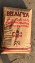 Bhavya PPC Cement, Packaging Size: 50kg