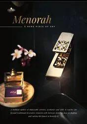 Menorah Gold Faucet