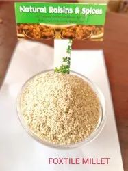 White Foxtail Millets (Thinai), Packaging Size: 50 Kgs, Gluten Free