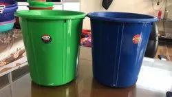 Colored Plastic Dustbin