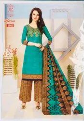 Cotton Salwar Suits Dress Material