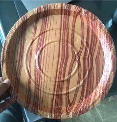 Printed Sunmica Paper Plate Raw Material, 80-180 Gsm