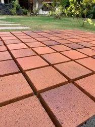 Red Rectangular Clay Face Bricks