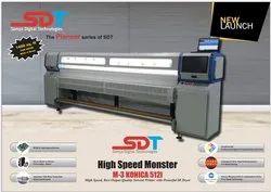 Konica 512I 30 Pl Flex Printing Machine
