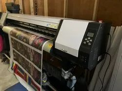 High Speed Eco Solvent Printing Machine