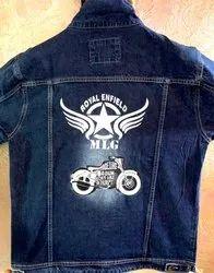 Customized Jeans Jacket