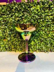 Martini Glasses Steel And Copper