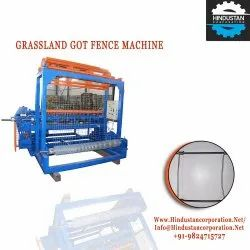 Automatic Grassland Field Mesh Fencing Machine