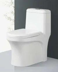 One Piece Toilet Seat Denium