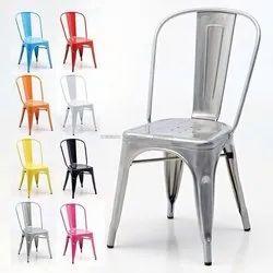 VISHAL Iron Metal Tolix Chair, Seating Capacity: 01, Size: Standard
