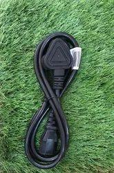 1.5m Black Desktop Power Cable