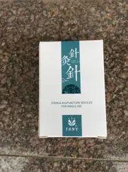 Sterile Disposable Acupuncture Silver Tube Needles - Half Chun