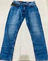 Regular Fit Button Branded Surplus Men Blue Denim Jeans