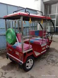 Marco Red Steel E Rickshaw
