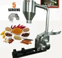 MS SS Pulverizer Machine For Red Chillies