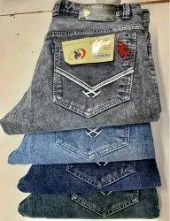 Regular Fit Plain Mens Black Casual Wear Denim Jeans