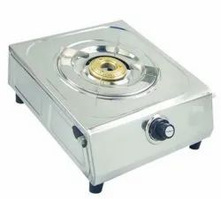Stainless Steel 20x24x10cm Single Burner Gas Stove