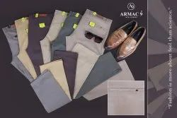 Chinos Regular Narrow Fit Cotton Twill Trousers, 6