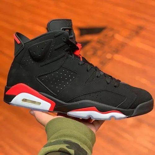 Black Nike Air Jordan Retro 6 Infrared, Mega Reductions | ID ...