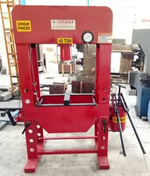 Hand Operated Hydraulic Press 40 Ton