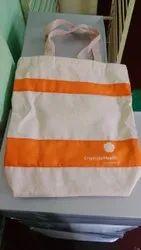 SRE BAGS Natural Cotton Canvas Bag, Size/Dimension: 14x16 Inch