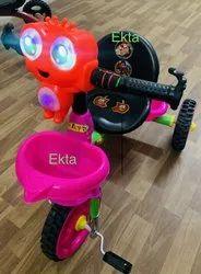 3-5年粉色兰博三轮车,尺寸:标准