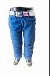 Plain Denim Crush Jeans