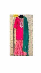 Formal Sharara Suit Set