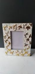 Multicolor Wooden Photo Frame, For Home, Size: 6 X 4 X 2