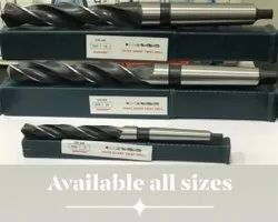 Standerd Ss Taper Drill Bits, For Industrial, Size: 13 Mm To 60 Mm