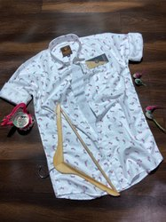 Full Sleeve Designer Shirt, Size: M L Xl
