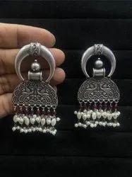 Silver Look Alike Earrings