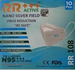 N95 Face Mask +++ Active Nano Silver Field Mask