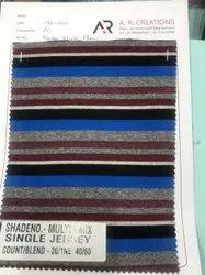 Striper Yarn Dyed /Feeder Stripe (PC), For Garments