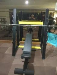 Multi Chest Press With Squat Stand