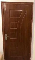 Laminated Wooden Membrane Doors, For Home, Door Height: 7