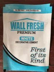 White Decorative Cement