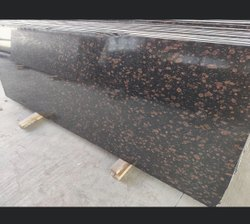 Flamed Slab Brown Granite, Countertops, Thickness: 10-15 mm