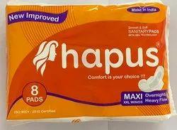 Hapus Maxi Xxl Sanitary 8 Pads
