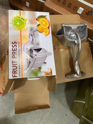 Fruit Press Hand Juicer