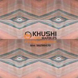 Khushi Pink Marble, Slab
