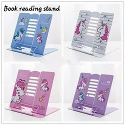 Book Reading Stand / Metal Material /  Unicorn Design