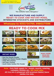 Ready To Cook Food, 10, Packaging Type: Packet