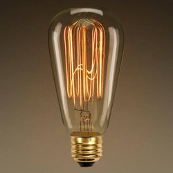 ST64 Edison Filament Bulb 40W